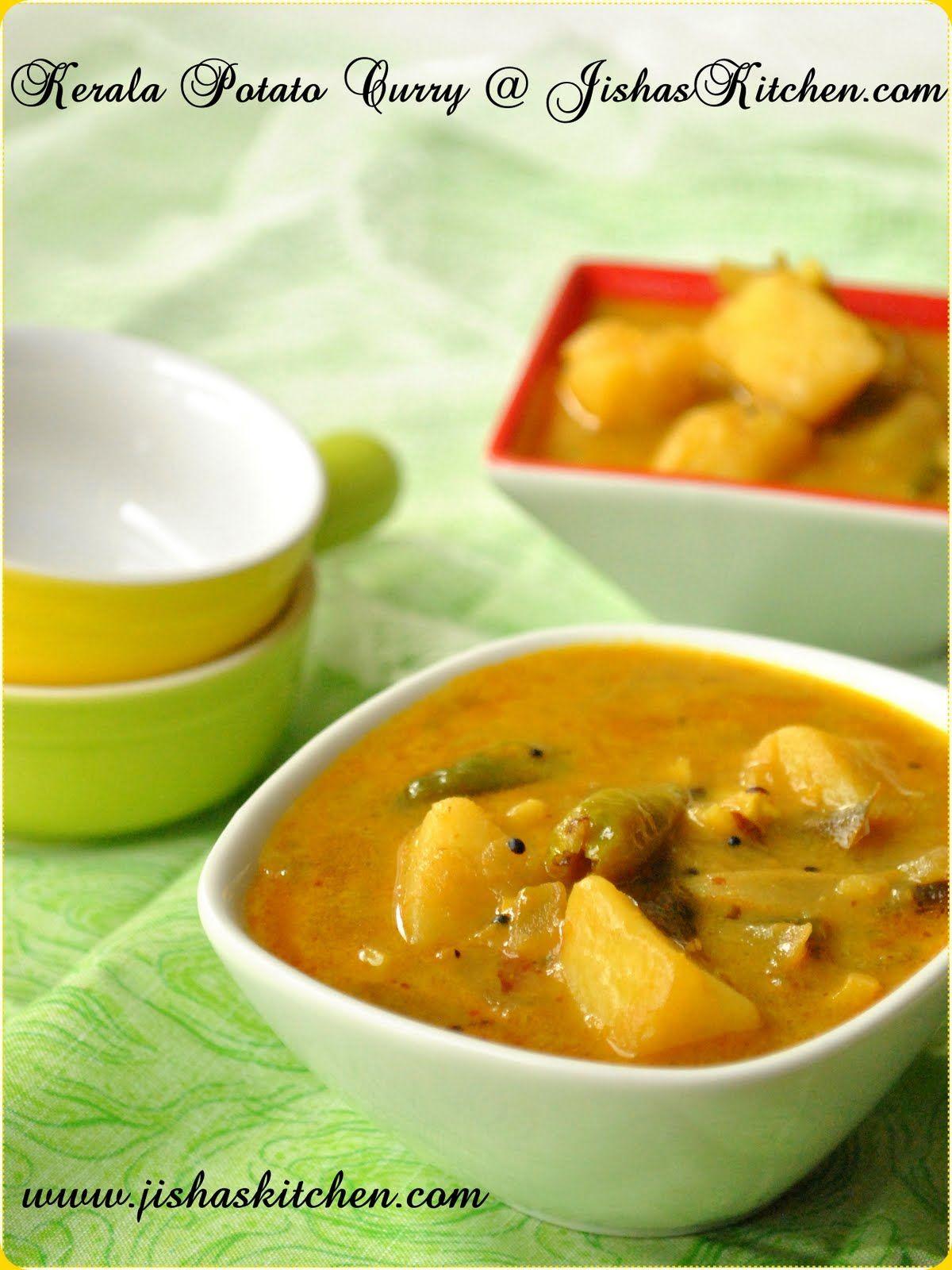 Jisha S Kitchen Kerala Style Potato Curry Indian Recipes