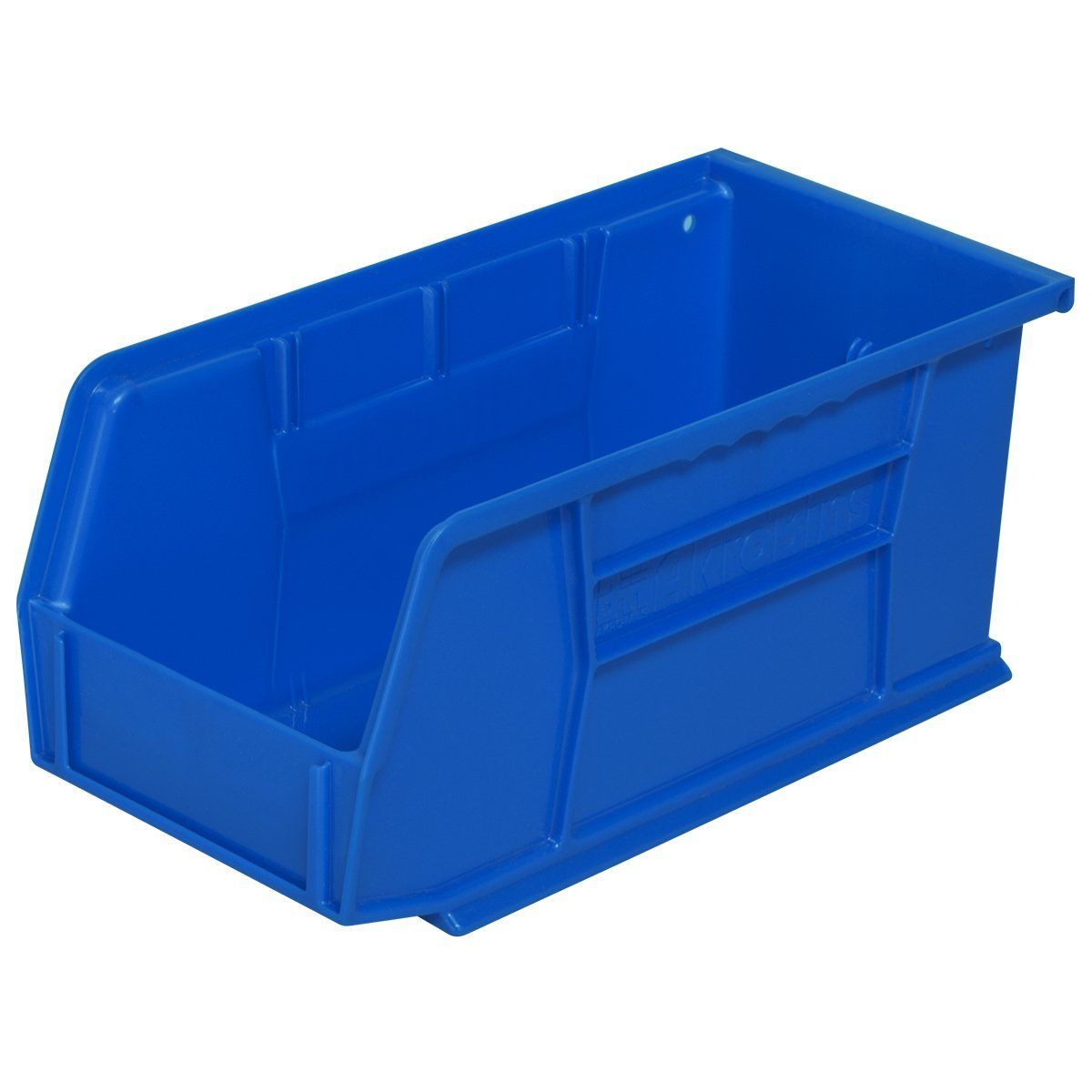 Amazon Com Akro Mils 30230 Plastic Storage Stacking Hanging Akro Bin 11 Inch By 5 Inch By 5 Inch Blue Case Of Storage Plastic Storage Plastic Storage Bins