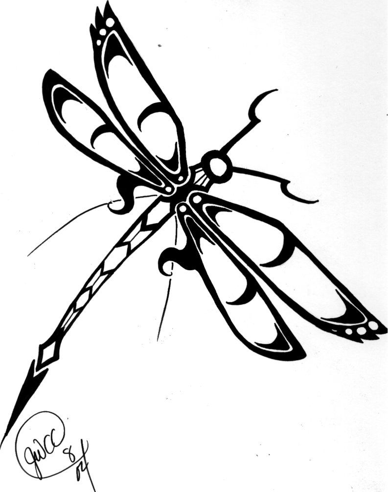 Dragonfly Coloring Pages Free For Kids