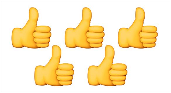 Thumbs-Up-Emoji-Sign-on-Apple.jpg (585×320) | MYPG Campaign ...