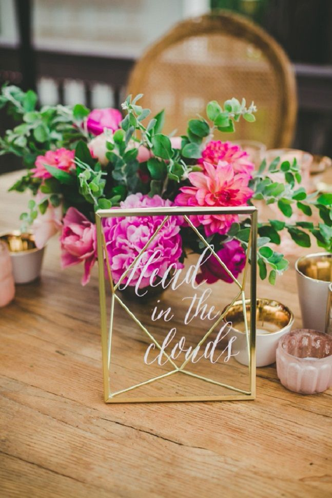 Blush And Fuchsia Wedding Colour For Bohemian Wedding Accents Of