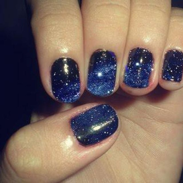 Nail Art Night: Night Time Sky Nail Designs