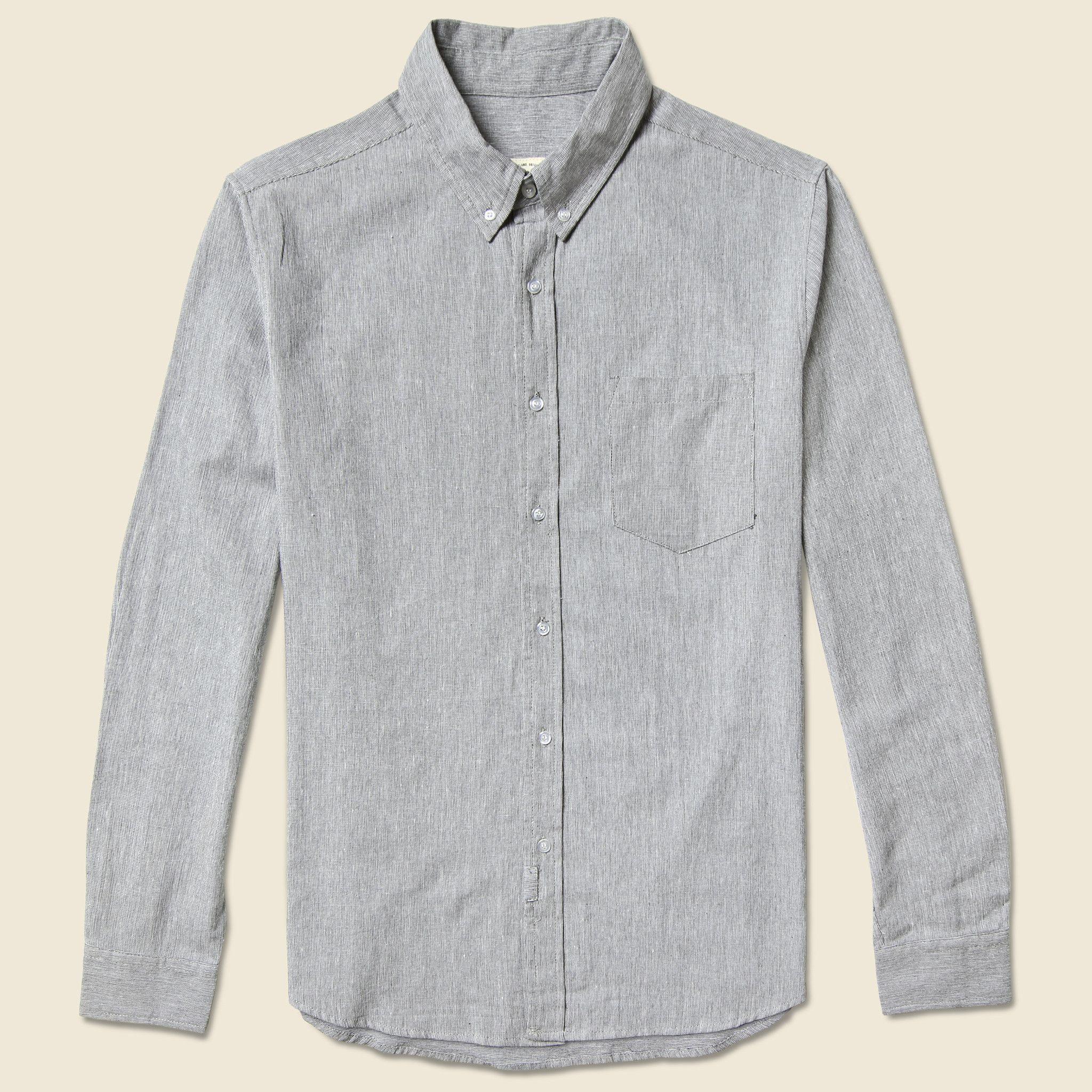 Endeavor flannel shirt  Fulton Linen Pinstripe Shirt  Grey  Products  Pinterest  Fulton