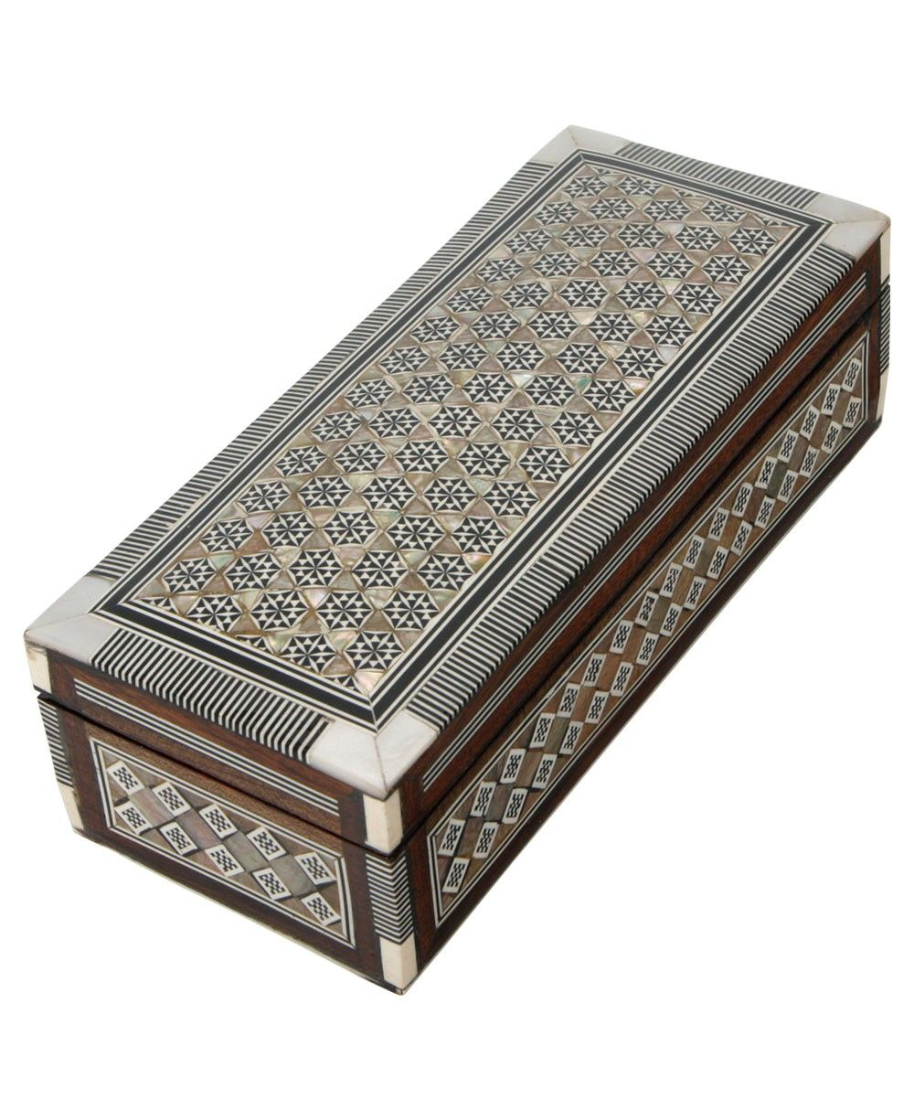 Decorative Boxes Egyptian Mother Of Pearl Decorative Box  Art V  Pinterest