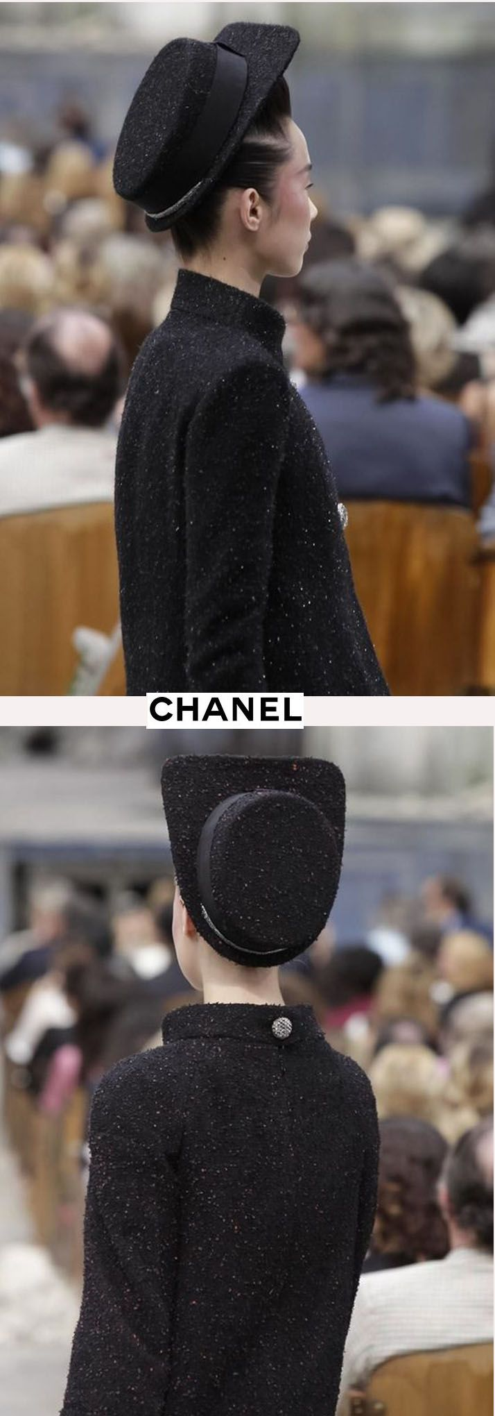 Chanel Couture A/W 2013-14 | Out with the old Pill Box hat in with Karl Lagerfeld's design revelation of the new...