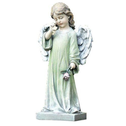 Small Angel Statues For Graves: Napco Commemorative Garden Statue, Weeping Angel By Napco