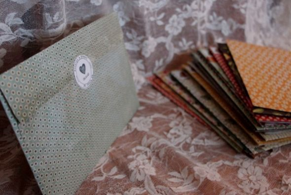 doily and paper invites | Weddingbee DIY Projects
