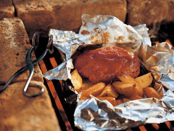 Grilled Meat Loaf Meal  Packs