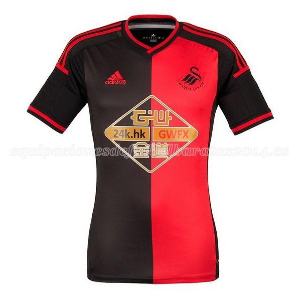 J League Football Shirts: Camiseta Del Swansea 2ª Equipación 2014/2015 (With Images