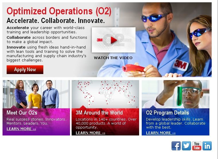 Manufacturing - 3M: Program in Operations | Rotation