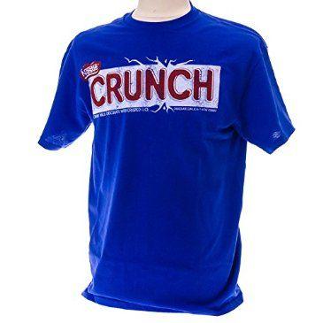 Nestle Crunch Logo Tee http://shop.crackerbarrel.com/Nestle-Crunch-Logo-Tee/dp/B00QVANK1O
