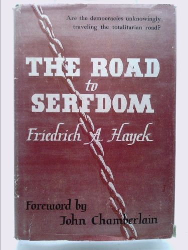 Road to Serfdom by Hayek. Friedrich A. published by Univ. of Chicago Press Hardcover | Thought provoking book. Book lovers gifts. Univ of chicago