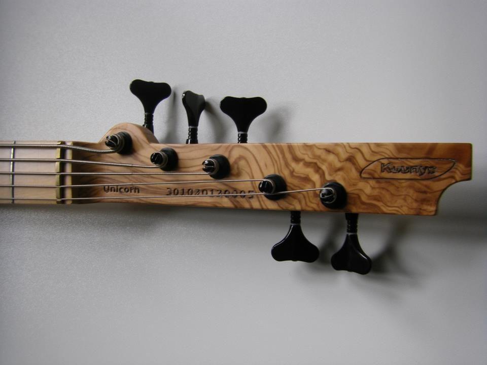 kuunys 5 strings electric bass 19 mm strings spacing seymour duncan nyc passive pickups. Black Bedroom Furniture Sets. Home Design Ideas