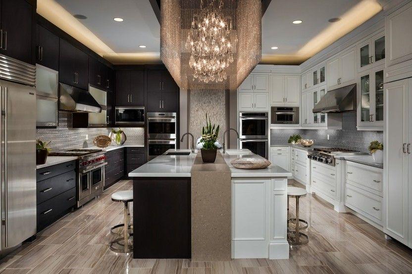 White Kitchen Vs Dark Kitchen white vs. dark kitchen cabinets | condo | pinterest | dark kitchen