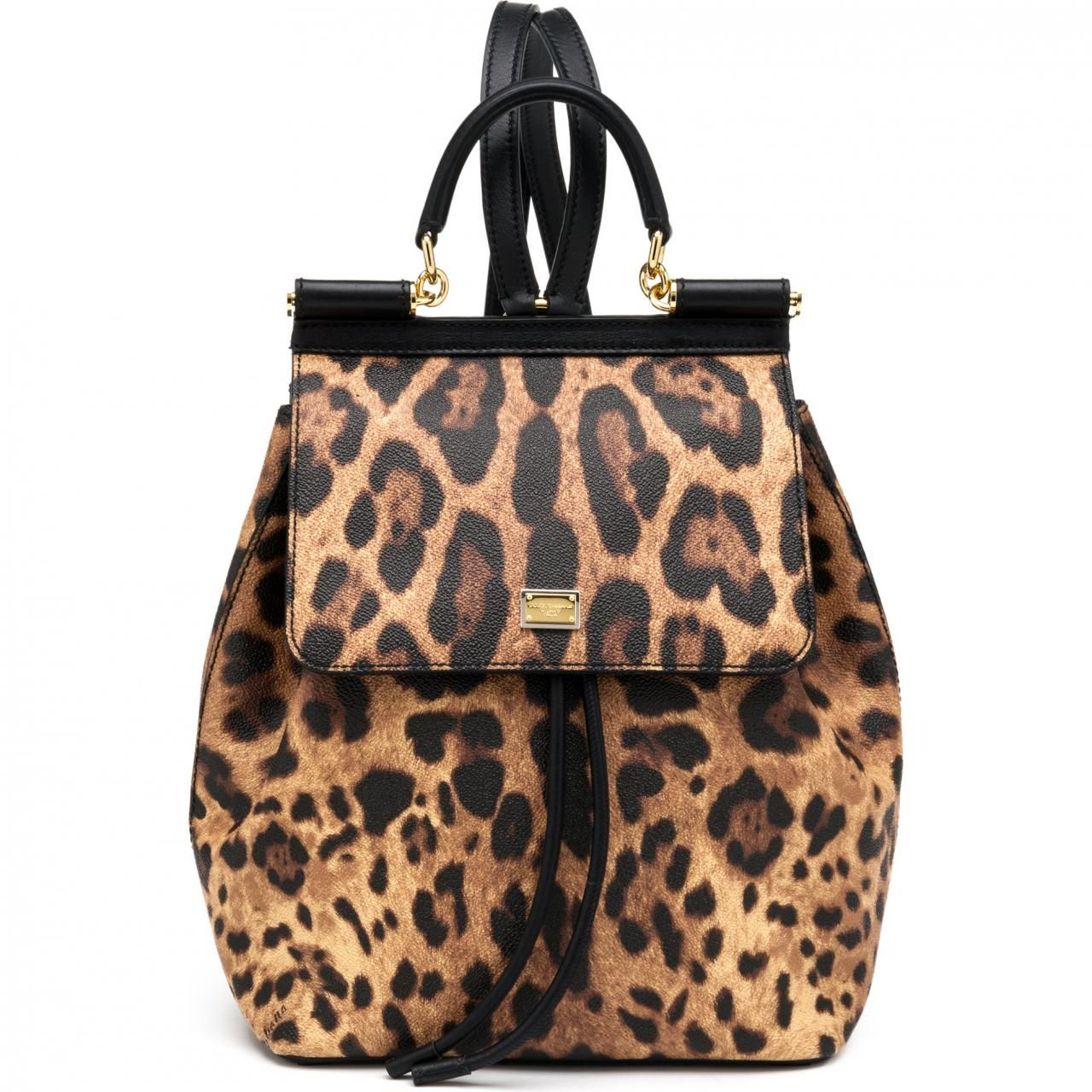 Tote Bag On Sale, Leopard, Coated Canvas, 2017, one size Dolce & Gabbana