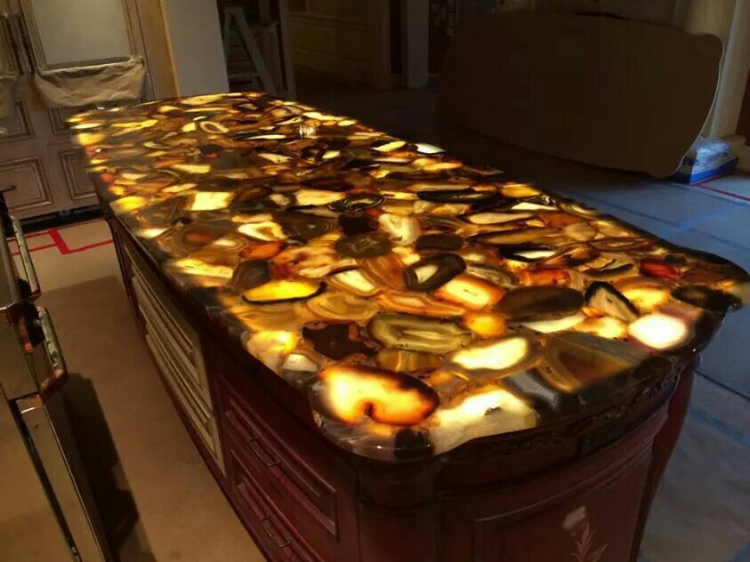 Lighted Agate Countertop | Lake Superior Agates | Pinterest | Countertop,  Countertops And Sinks