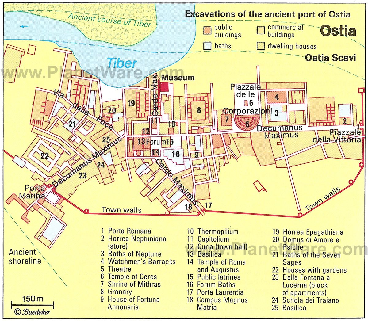 Ostia Rome Attractions Planetware Ostia Day Trips From Rome Rome Attractions