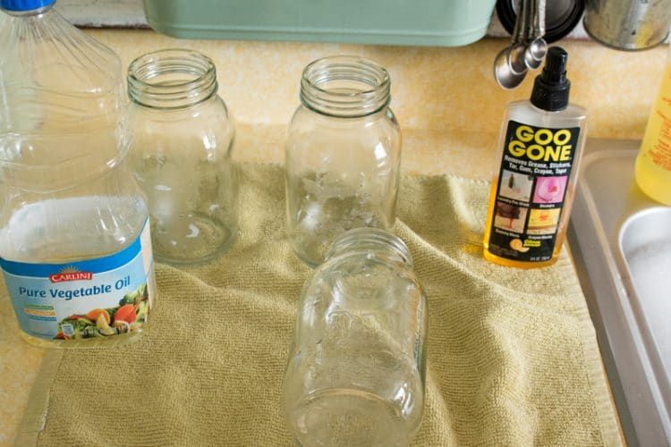Vegetable Oil To Remove Glue From Paper Labels Remove Labels