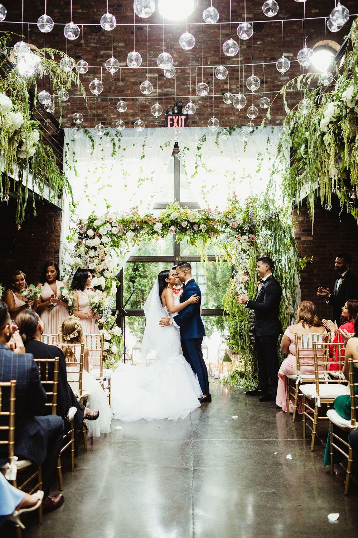 Colorful Elegant Wedding at the Foundry LIC Nyc wedding