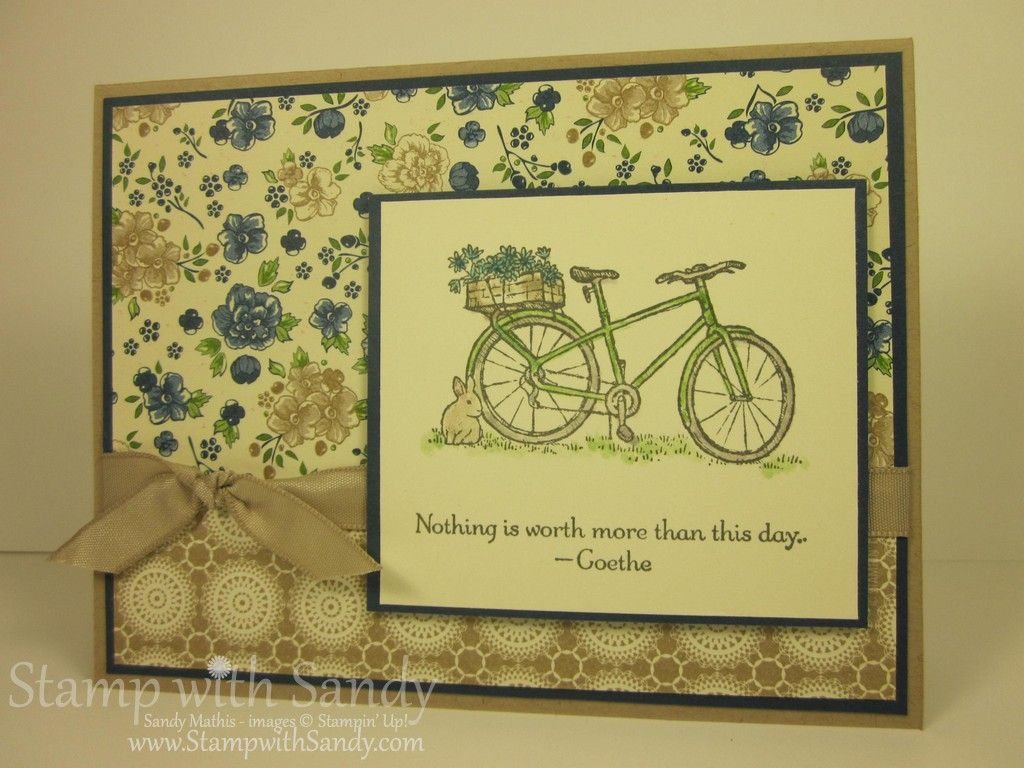 Simple Summer Afternoon Cards Card Ideas And Bicycle Cards