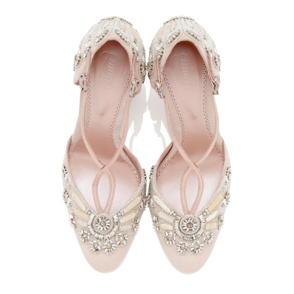 b15ae3595 Cecile-Bridal-Shoes-Emmy-London-Blush-Suede-Embellished-Crystals-Swarovski