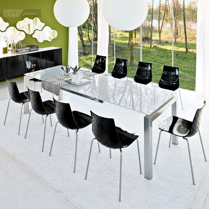 Dining Tables Calligaris Airport Extendable Dining Table Dining