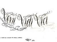 Veni vidi vici tattoo bing images tattoos pinterest - Tatouage veni vidi vici ...