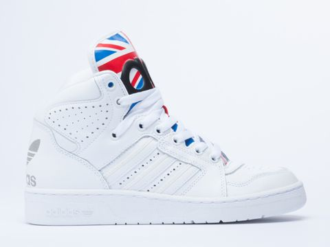 Adidas Originals X Jeremy Scott Instinct Hi in Union Jack