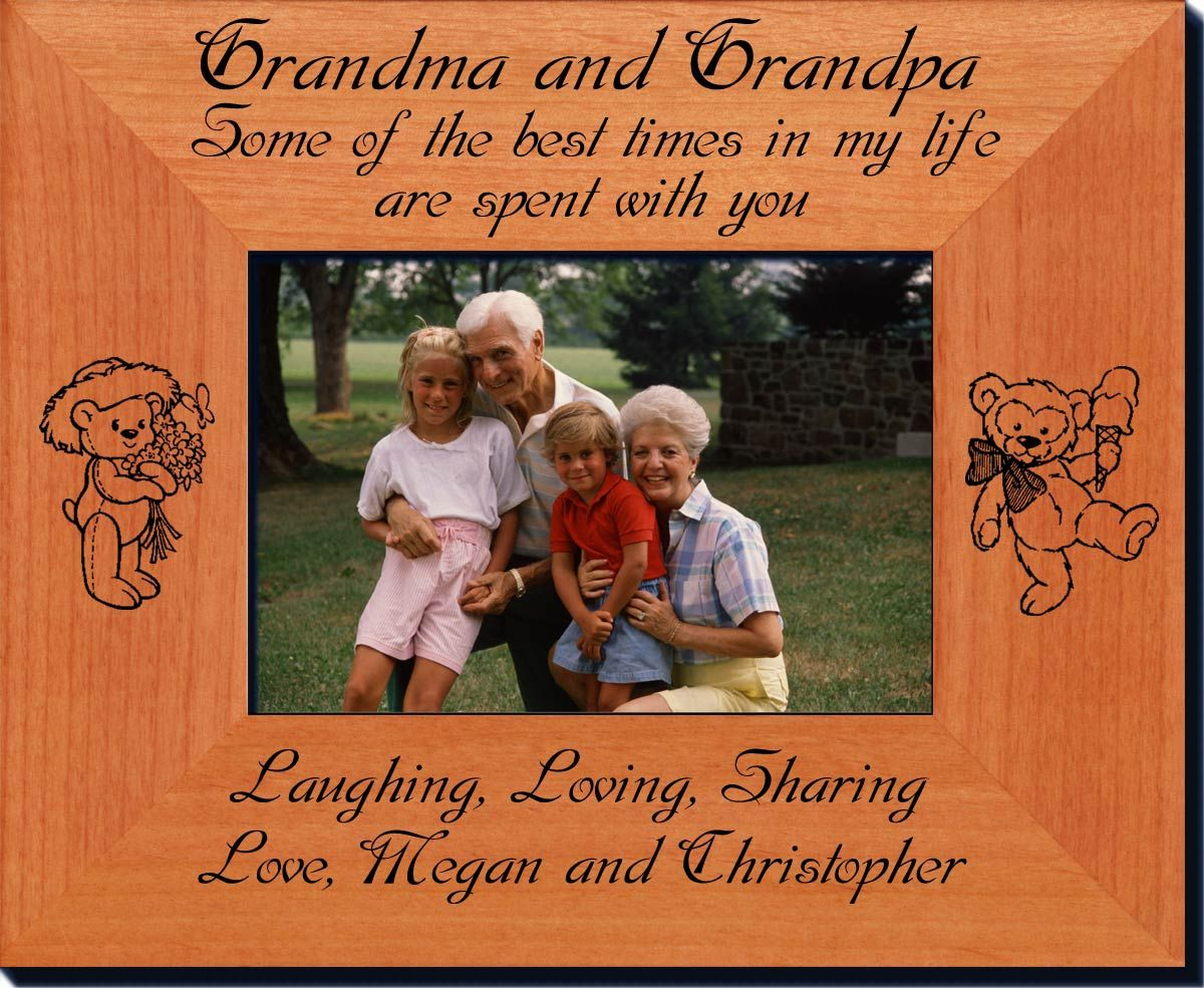 Personalized Grandparents Frame - Always FREE laser engraving ...