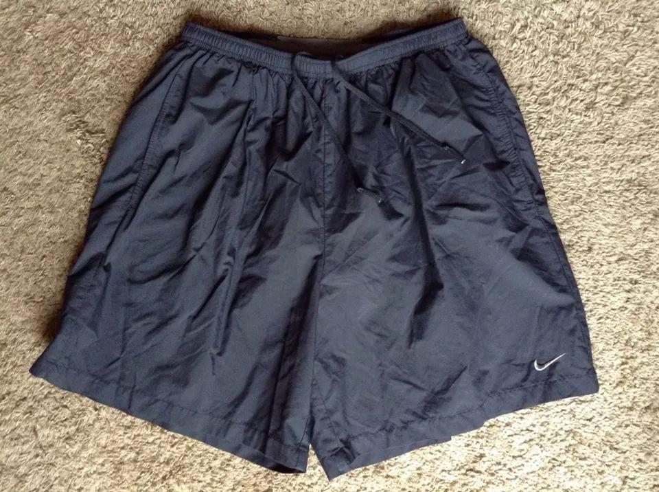 Nike dri fit mens large black shorts athletic running