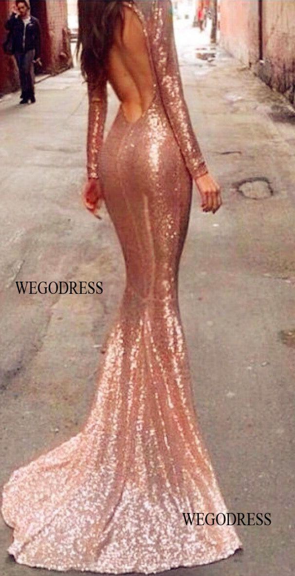 mermaid prom dress