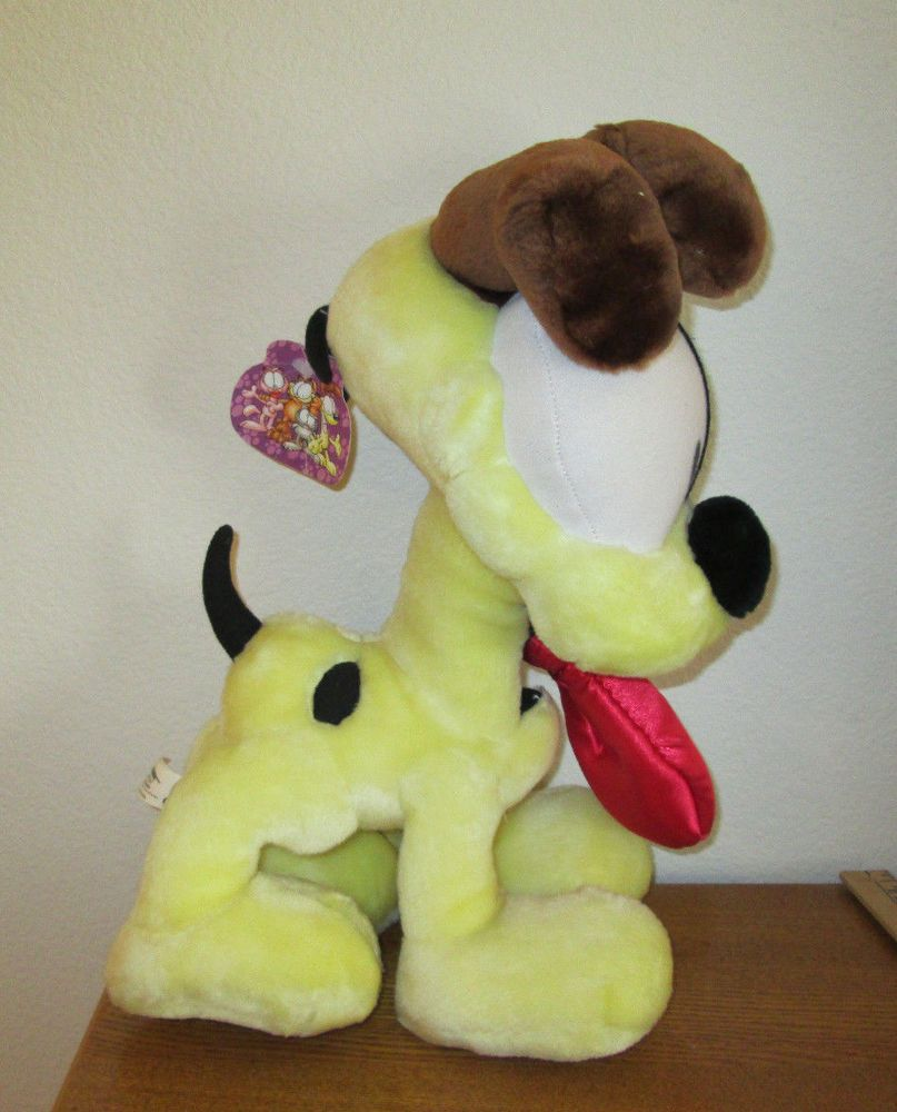 Odie Plush Dog From Garfield 15 Tall Paws Play By Play Big