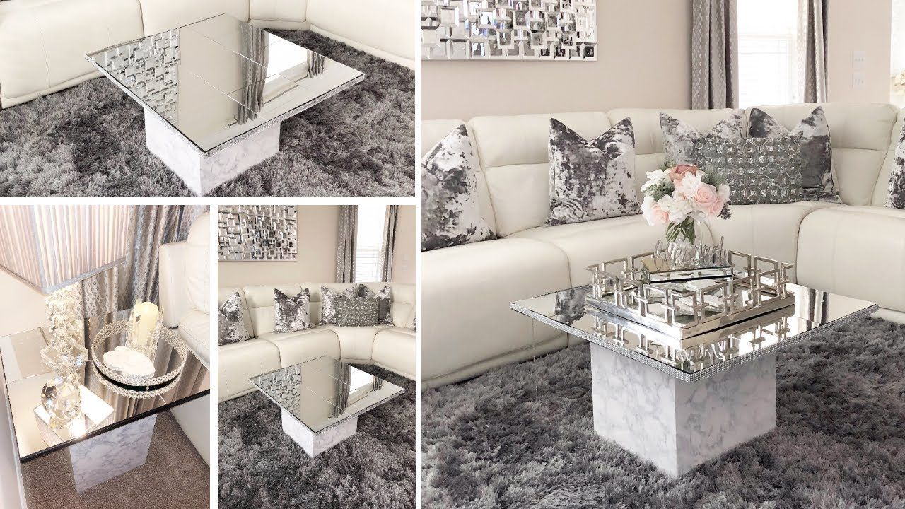DIY Home Decor 2019 Dollar Tree DIY Glam Mirror Table