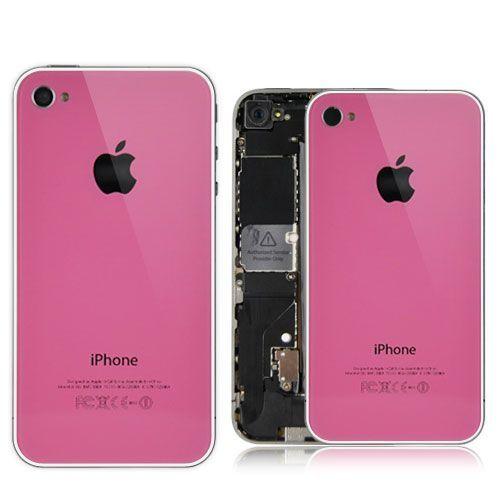 Tapa trasera de cristal para iPhone 4 y 4S