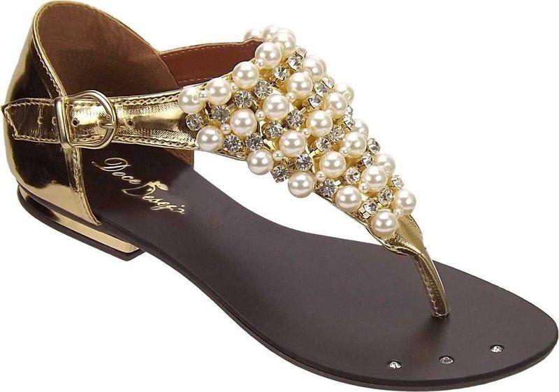 06acc5c53 SANDÁLIAS RASTEIRINHA COM PÉROLAS : : ATACADO : : - Luc Calçados: Calçados  Femininos Sandálias Rasteiras no Varejo e Atacado