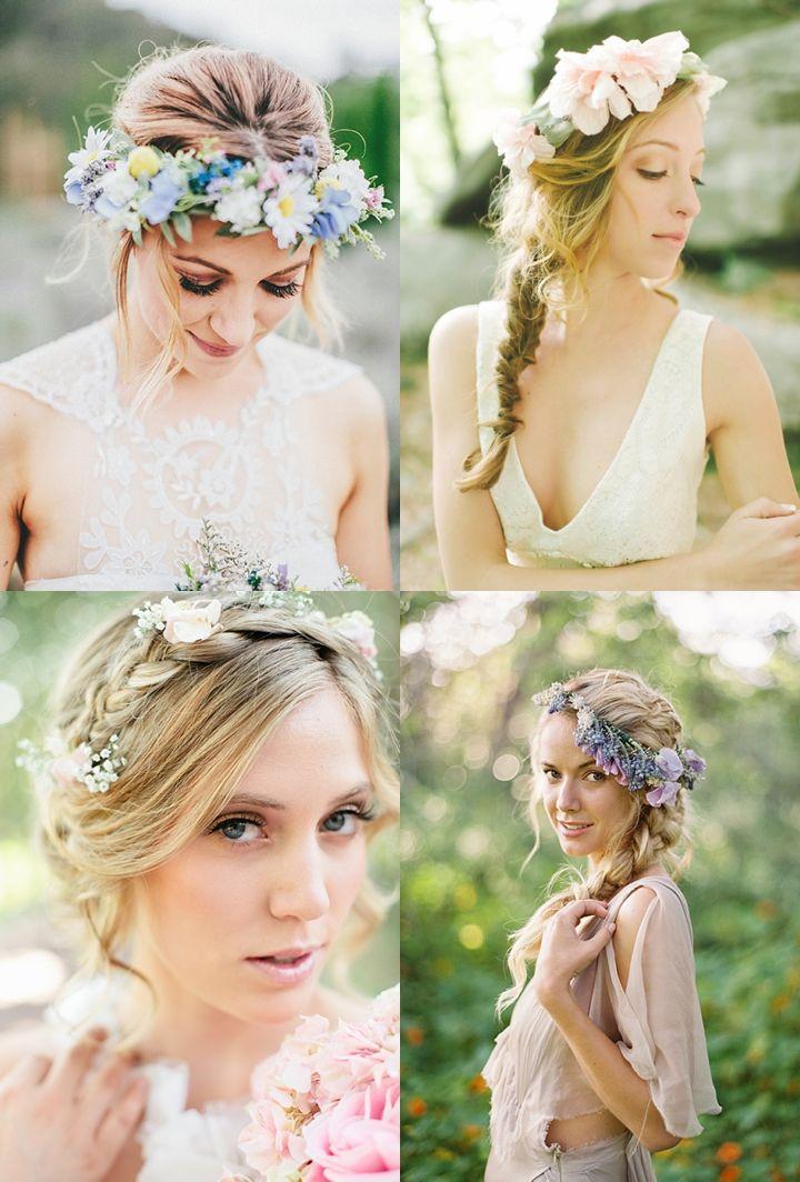 Slubne Wianki Na Glowe 44 Pomysly Sweet Wedding Flower Girl Dresses Boho Wedding Wedding