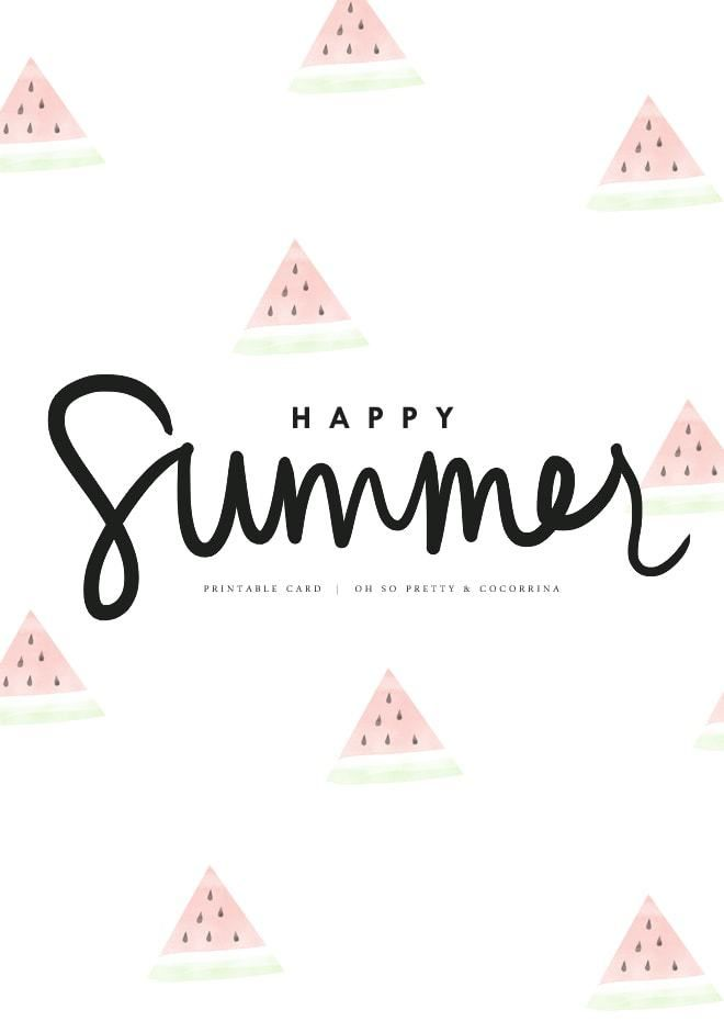 20 Fabulous Free Summer Printables With Images Summer