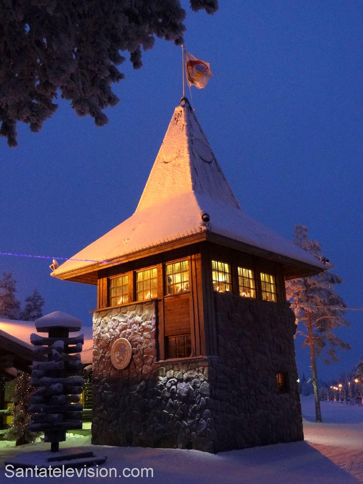 Ufficio Postale Centrale di Babbo Natale al Villaggio di Babbo Natale a Rovaniemi in Lapponia