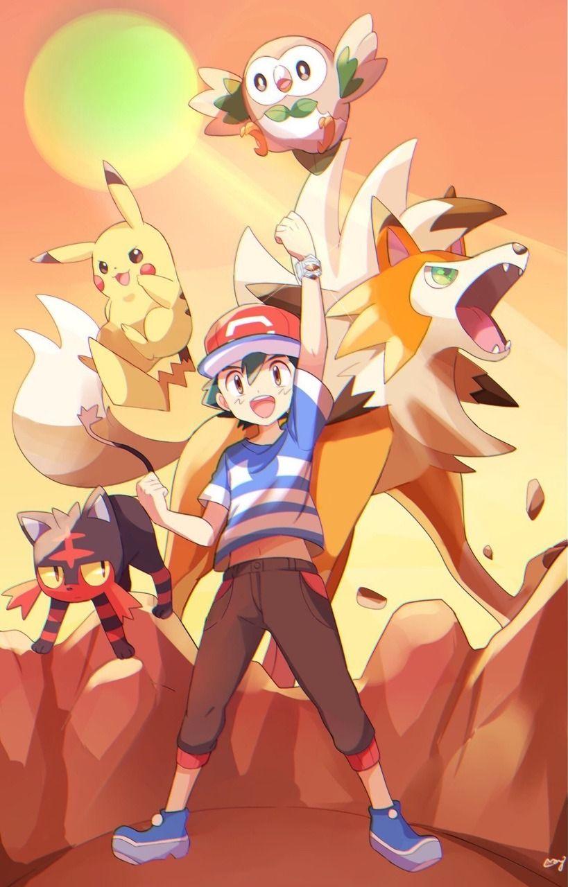 Colgante Pokemon Pikachu Ash Satoshi Pokemon Go Anime