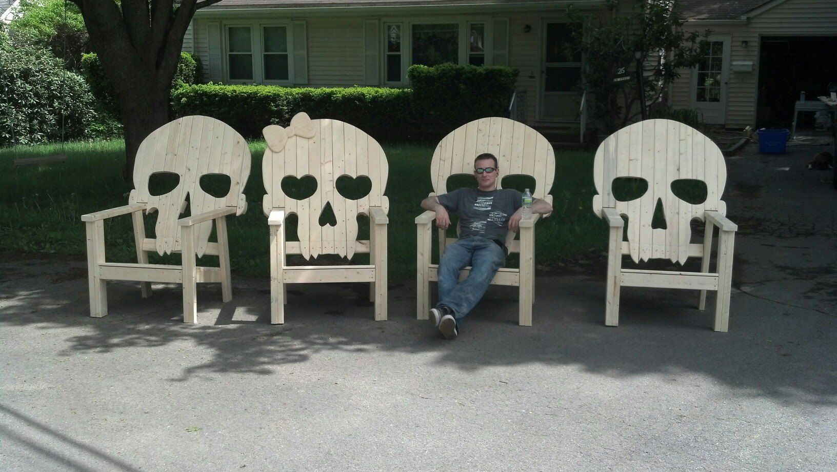 Wooden Skull Chair Tommy Bahama Beach Uk Chairs Love This For The Home Pinterest