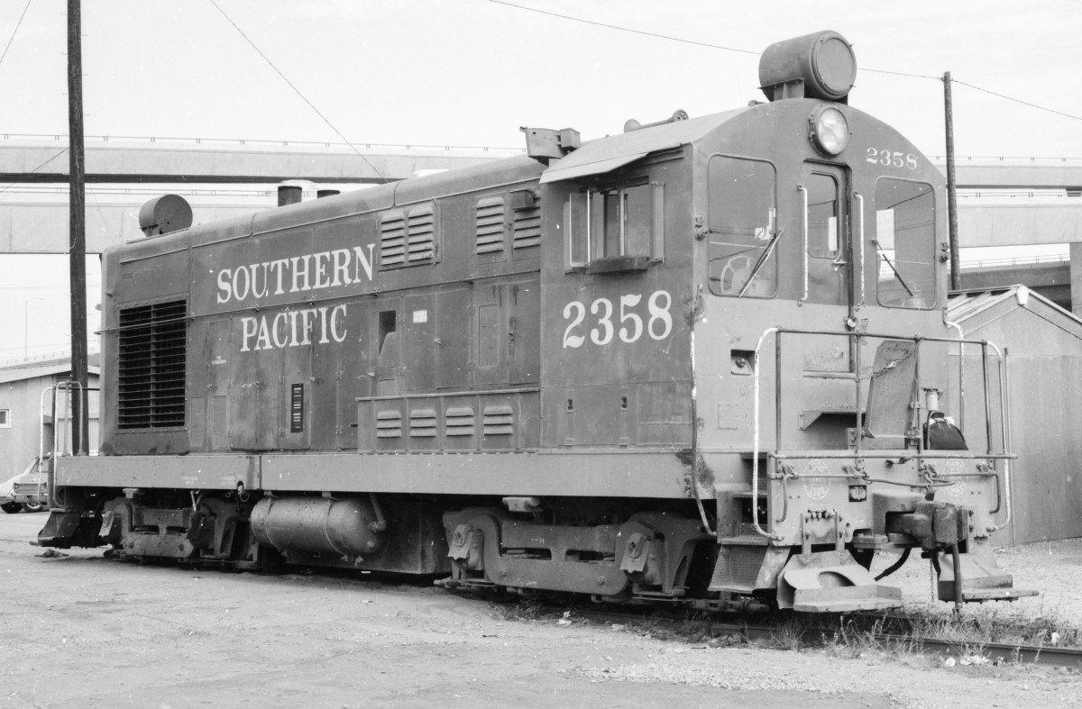 Southern pacific fm h fairbanks morse locomotives