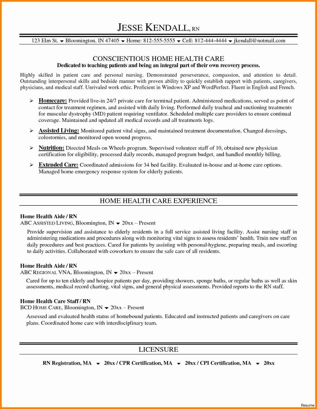 resume objective examples business