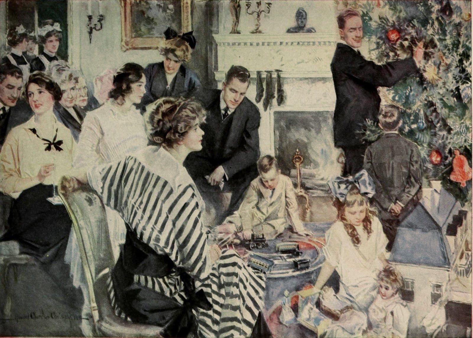 Desde el Renacimiento hasta nuestros días: Howard Chandler Christy (1873-1952)