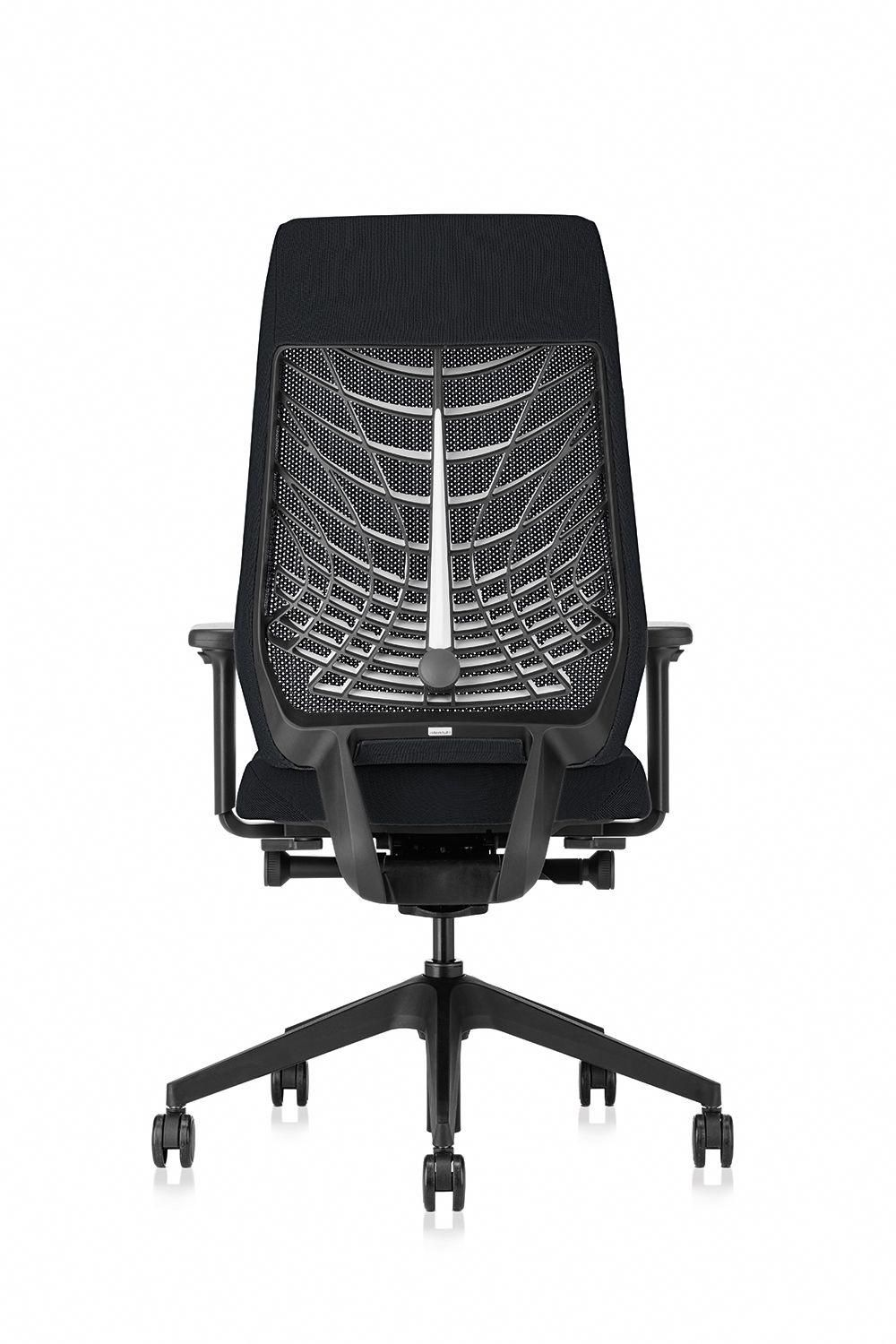 Workpro Commercial Mesh Back Executive Chair Black Allsteel Mimeo Chair Shown In Loft Mesh With 4d Arms