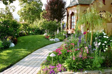 English Garden Landscape Design 2 The Elements Of A Good English Garden  Landscape Design Vibrant Colors