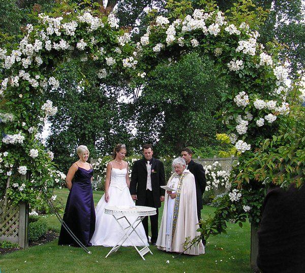 Patio Wedding Decorations