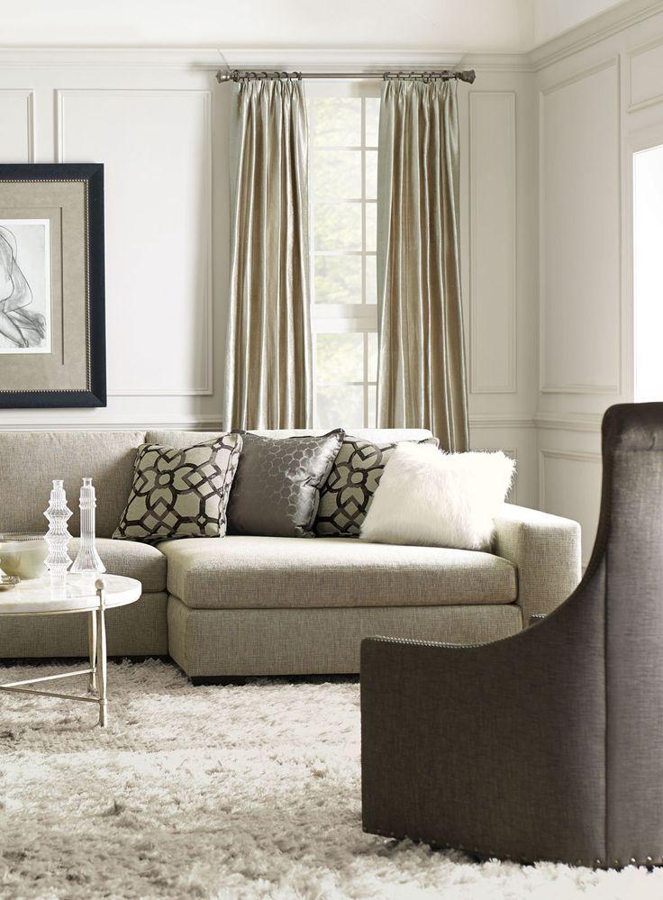Bernhardt | Orlando Sectional Sofa, Maurice Swivel Chair ...