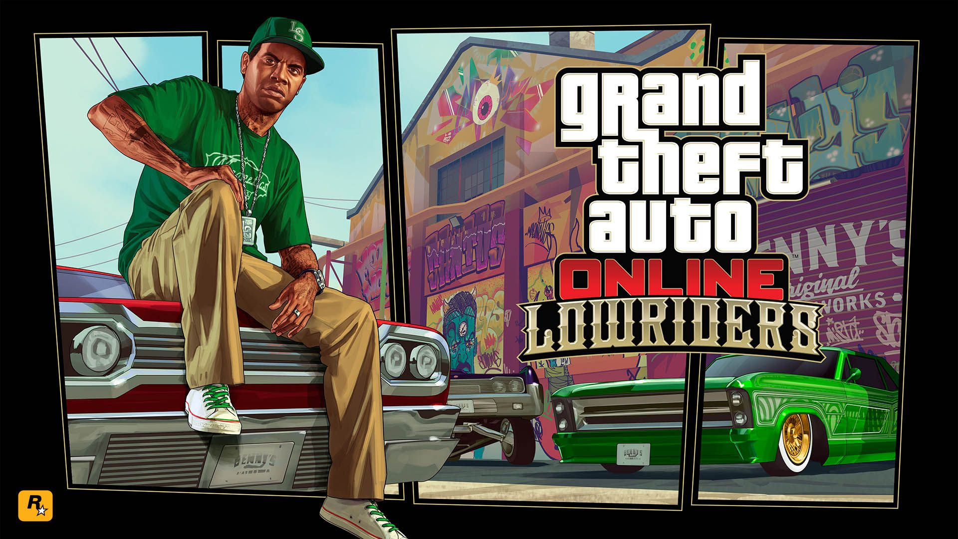 lowriders - gta 5 online update 1920x1080 wallpaper | sucker punch