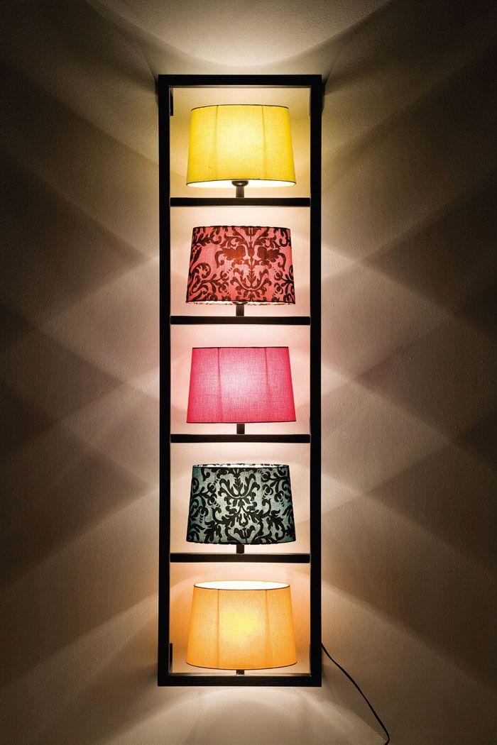 42 impressive Lichtideen für eine bezaubernde Wandbeleuchtung ...