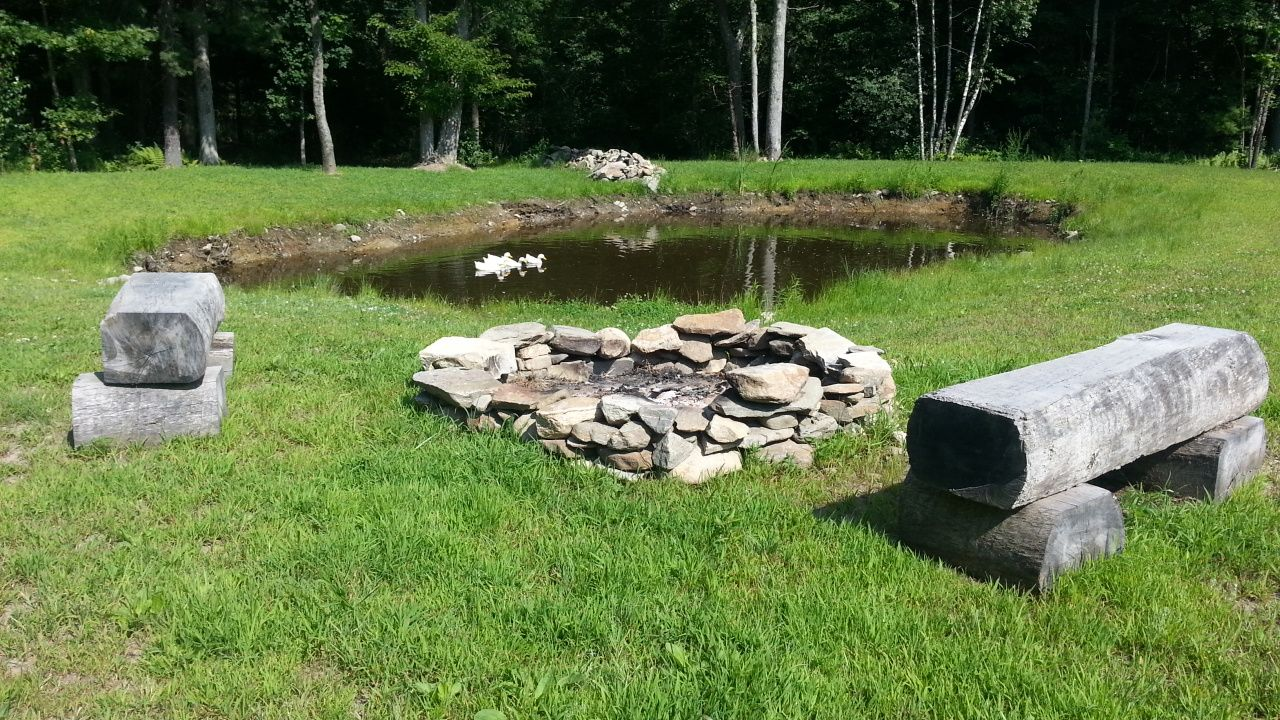 CT Farm Property For Sale in Putnam Connecticut. Pond and